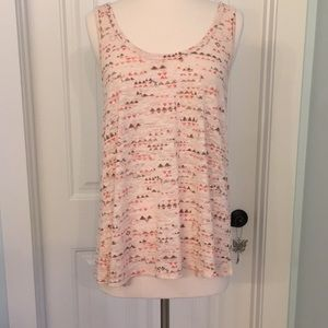American Eagle Outfitters in peach, brown, orange